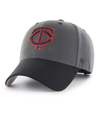 the latest 02d47 a5a56 ... inexpensive 47 brand minnesota twins 2tone charcoal black pop mvp cap  sports fan shop by lids