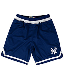 Mitchell & Ness Men's New York Yankees Playoff Win Shorts