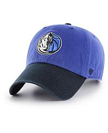 '47 Brand Dallas Mavericks 2-Tone Clean Up Cap
