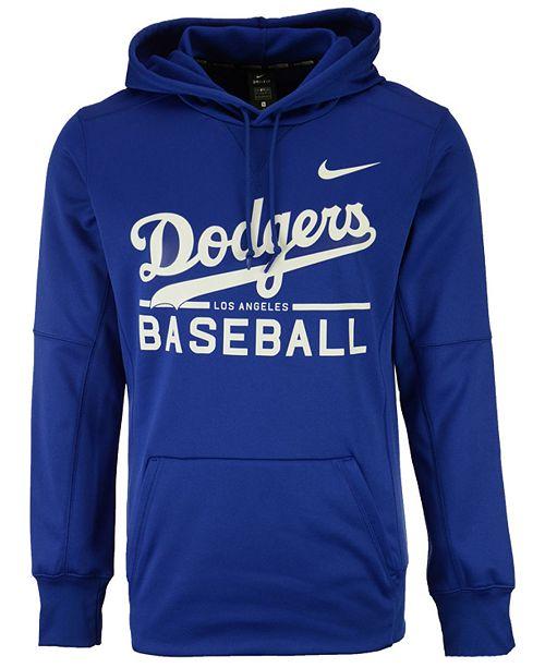 b13bcc3c99b72 Nike Men's Los Angeles Dodgers Therma Hoodie & Reviews - Sports Fan ...