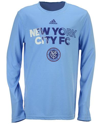adidas New York City FC Striker T-Shirt, Big Boys (8-20)