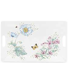 Lenox Butterfly Meadow Melamine Large Rectangular Serving Tray