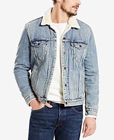 Levi's® Sherpa Denim Trucker Jacket