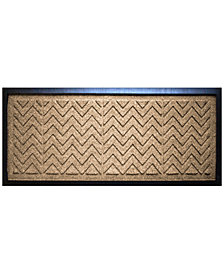 "Bungalow Flooring Water Guard Chevron 15"" x 36"" Boot Tray"