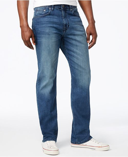 a46ec6bc Calvin Klein Jeans Men's Stretch Relaxed Fit Jeans & Reviews ...