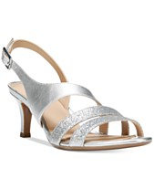 dd5a30f838a6b Silver Bridal Shoes and Evening Shoes - Macy s