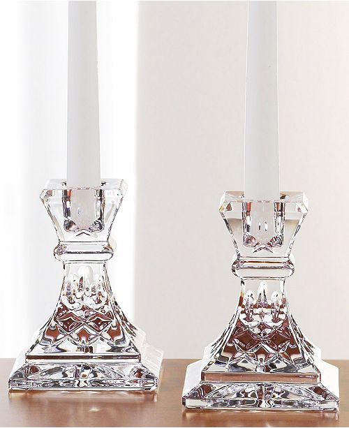 Waterford Gifts, Lismore Candle Holders