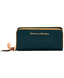 Dooney & Bourke Double-Zip Wallet