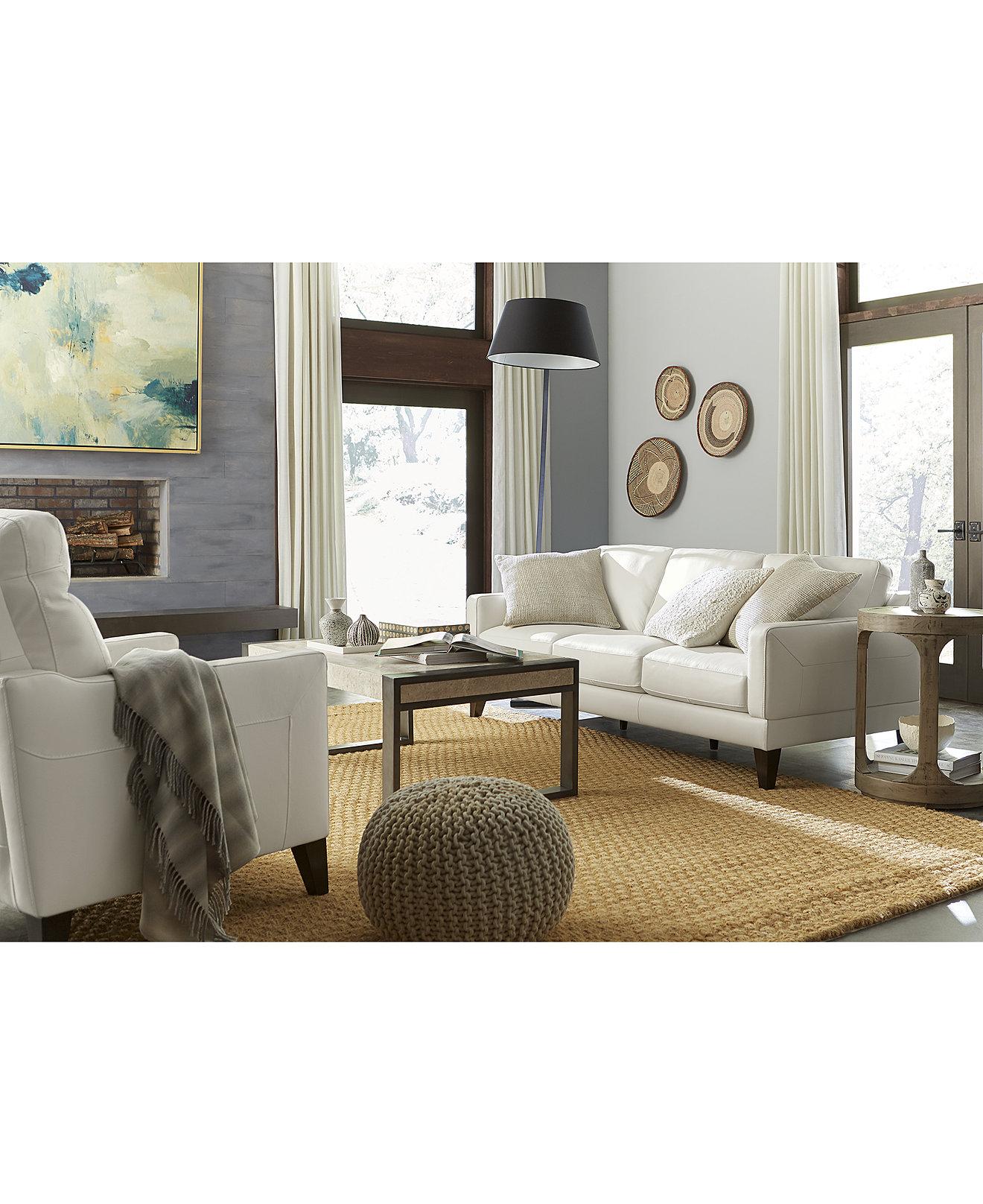 Emilda leather sofa collection