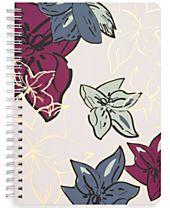 Vera Bradley Falling Flowers Mini Notebook