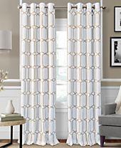 Elrene Kaiden Blackout Linen Window Panel Collection