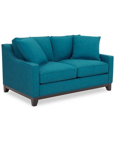 Keegan sofa keegan 90 2 piece fabric sectional sofa custom for Keegan fabric 2 piece sectional sofa peacock