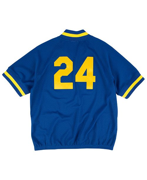 online store 19204 9ab2e Mitchell & Ness Men's Ken Griffey Jr. Seattle Mariners BP ...
