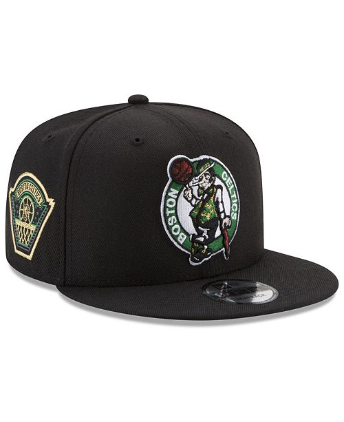 free shipping d0363 47911 New Era. Boston Celtics All Metallic Hoops 9FIFTY Snapback Cap. Be the  first to Write a Review. main image ...