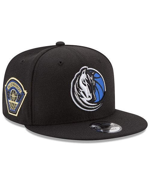 pretty nice 68c69 63a96 ... New Era Dallas Mavericks All Metallic Hoops 9FIFTY Snapback Cap ...