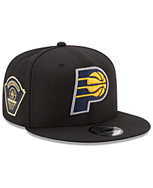 New Era Indiana Pacers All Metallic Hoops 9FIFTY Snapback Cap