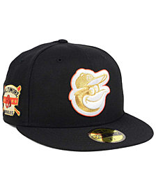 New Era Baltimore Orioles Exclusive Gold Patch 59FIFTY Cap