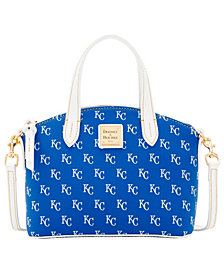 Dooney & Bourke Kansas City Royals Ruby Mini Crossbody Satchel