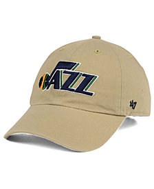 '47 Brand Utah Jazz Khaki CLEAN UP Cap