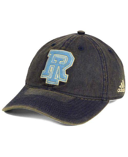 adidas Rhode Island Rams Over Dye Slouch Cap