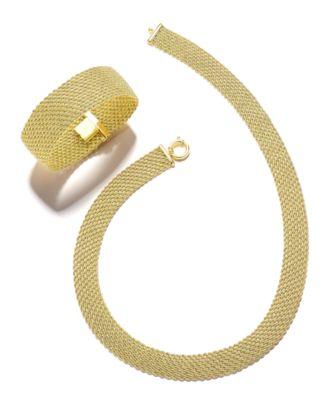 El Dorado Link Chain Necklace in 14k Gold