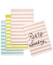 kate spade new york Pastel Striped Notepad Set