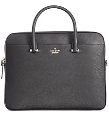kate spade new york 13-Inch Saffiano Leather Laptop Bag