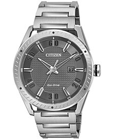 Citizen Men's Drive From Citizen Eco-Drive Stainless Steel Bracelet Watch 42mm