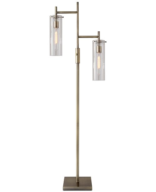 Adesso dalton floor lamp lighting lamps home macys main image main image aloadofball Gallery