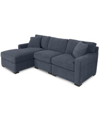 furniture radley 3 piece fabric chaise sectional sofa custom rh macys com macys sectional sofa gray macys sectional sofa bed