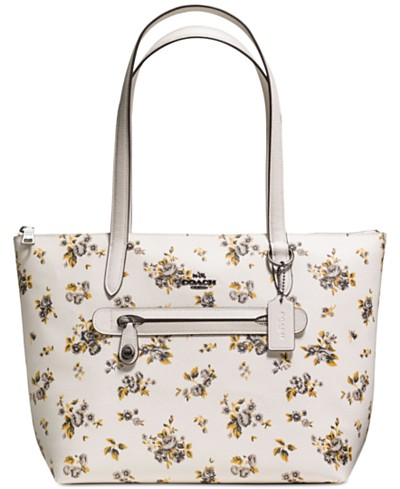 COACH Taylor Tote in Prairie-Print Coated Canvas