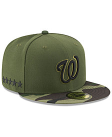 New Era Boys' Washington Nationals Memorial Day 59FIFTY Cap