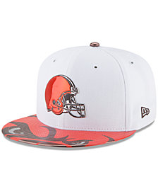 New Era Boys' Cleveland Browns 2017 Draft 59FIFTY Cap