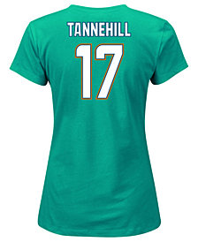 Majestic Women's Ryan Tannehill Miami Dolphins Fair Catch Player T-Shirt