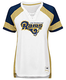 Majestic Women's Los Angeles Rams Draft Me T-Shirt