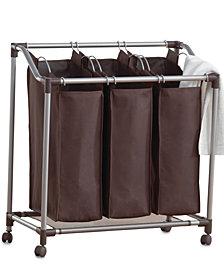 Neatfreak Hampers, Deluxe Everfresh Laundry Triple Sorter
