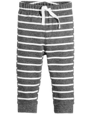 First Impressions Striped Jogger Pants Baby Boys (024 months) Created for Macys