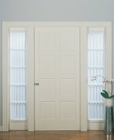 "Lichtenberg No. 918 Sheer Voile 28"" x 72"" Sidelight Panel"