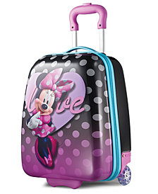 "Disney Minnie Mouse 18"" Hardside Rolling Suitcase By American Tourister"
