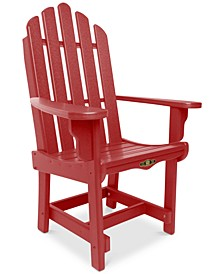 Essentials Outdoor Dining Adirondack Chair with Arms