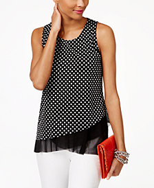 I.N.C. Layered-Look Tank Top, Created for Macy's