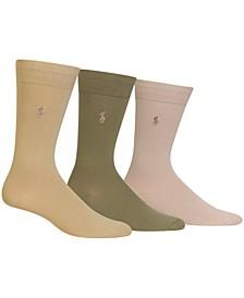 Men's 3 Pack Super-Soft Dress Socks