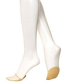 HUE® Women's Sheer Toe-Cover Liner Socks