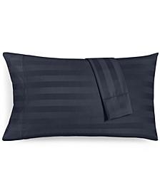 "1.5"" Stripe Standard Pillowcase Set, 550 Thread Count 100% Supima Cotton, Created for Macy's"