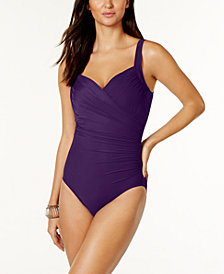 Miraclesuit Sanibel One-Piece Allover Slimming Swimsuit
