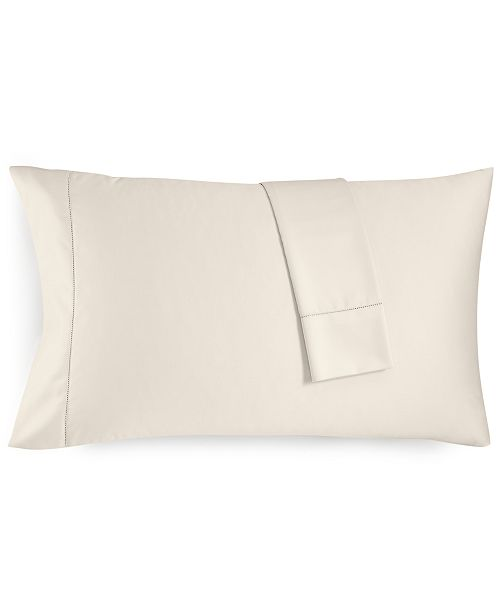 Charter Club CLOSEOUT! Ivory Standard Pillowcase Set, 550 Thread Count 100% Supima Cotton, Created for Macy's