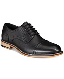 Bar III Men's Parker Cap-Toe Brogues Created for Macy's