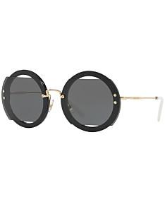 60d76bc17a22 MIU MIU Sunglasses For Women - Macy's