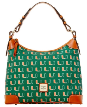 Dooney & Bourke Miami Hurricanes Hobo Bag