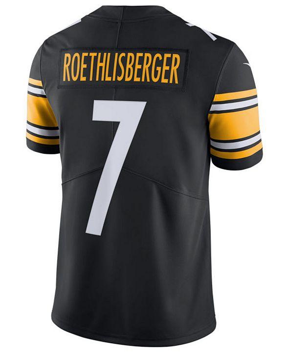 Nike Men's Ben Roethlisberger Pittsburgh Steelers Vapor Untouchable Limited Jersey